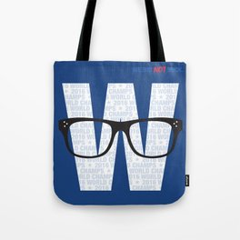 Fly the W Tote Bag