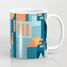 Yellow Klee houses Coffee Mug
