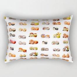 Sushi set Rectangular Pillow