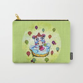Panda Donut Girl Carry-All Pouch