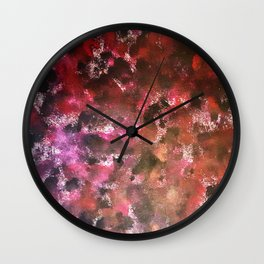 Abstract #7 - Remnants of Past Lovers Wall Clock