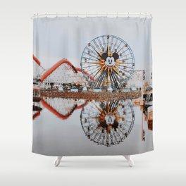 Disneyland / California Shower Curtain