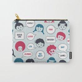 Kids Speak Carry-All Pouch