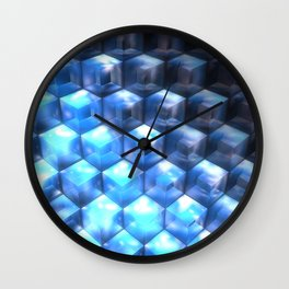 By the Steps of Atlantis Wall Clock