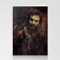 daryl Stationery Cards featuring Daryl Dixon by Sirenphotos