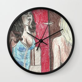 Slap Me Bitch Wall Clock