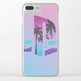 Vaporstation Clear iPhone Case