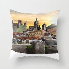Cogolludo Sunrise Throw Pillow
