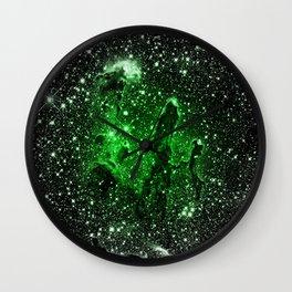 gaLaxy : Green Pillars of Creation Wall Clock