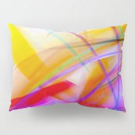 Colorful Tropical Abstract - Tropica 02 Pillow Sham