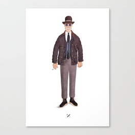 mr. Wooster Canvas Print