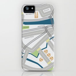 The Streets of Zurich iPhone Case