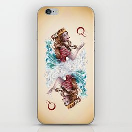 Queen of Diamonds iPhone Skin