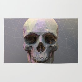Skull Colorful Wires 1 Rug