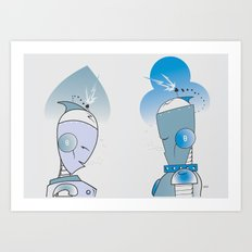 Isodop'd Art Print