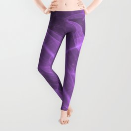 Purple Galaxy of Sir Douglas Fresh [Torus of Love Version] Leggings