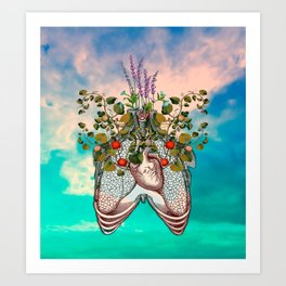 epitaph for my heart. Art Print
