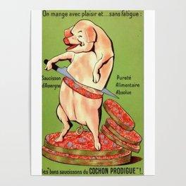 excusez mon porc Poster