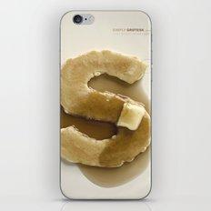 Simply Grotesk iPhone & iPod Skin
