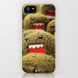 Domo Attacks! iPhone Case
