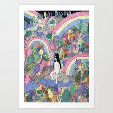 Pretty Art Print