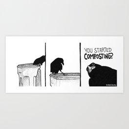 Bird no. 381: Cruel Art Print