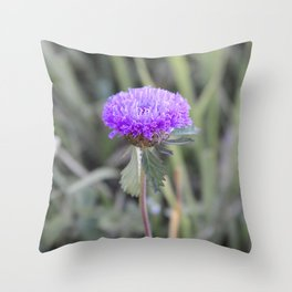 Purple Flower.... Throw Pillow