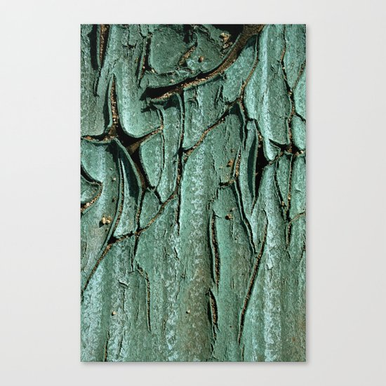 Green Rubber Canvas Print