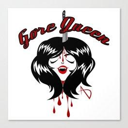 Gore Queen Canvas Print