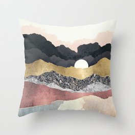 Frost Reflection Throw Pillow