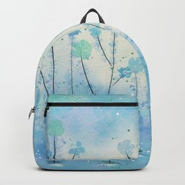Blue Field of Flowers Backpack