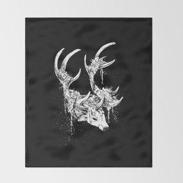 Ten of Wands Throw Blanket
