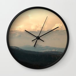 View From Music Farm Road Wall Clock