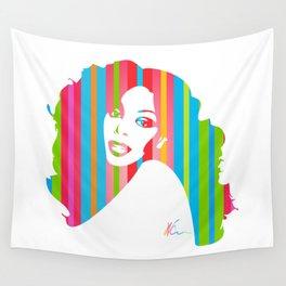 Donna Summer   Pop Art Wall Tapestry