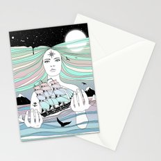 Journey to A Greater Existence (Your Life On Your Hands) Stationery Cards