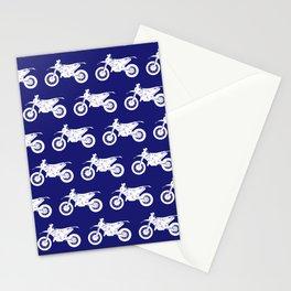 Dirt Bikes // Midnight Blue Stationery Cards