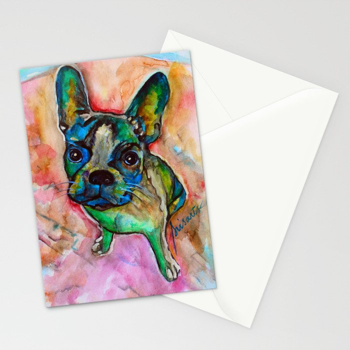 SPECIAL FRENCHIE Stationery Cards
