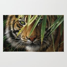 Tiger - Emerald Forest Rug