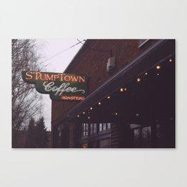 Stumptown Coffee - Portland, OR Canvas Print