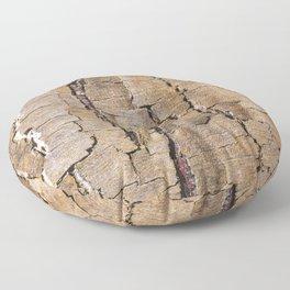 Brown tree trunk Floor Pillow