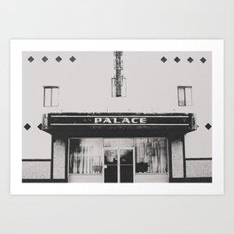 Palace Theater - Marfa, Texas Art Print