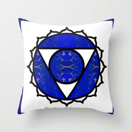 Sing A Song Of Eternity Abstract Chakra Art Throw Pillow