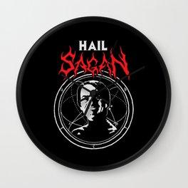 HAIL SAGAN Wall Clock