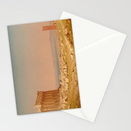 Ruins of the Parthenon Oil Painting by Sanford Robinson Gifford Stationery Cards