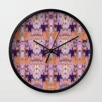 turtles Wall Clocks featuring Turtles by Ingrid Padilla