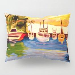 Lahaina Harbor Sunset Pillow Sham