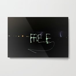 Free Metal Print