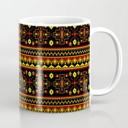 Native Aboriginal Tribal Pattern V.9 Coffee Mug