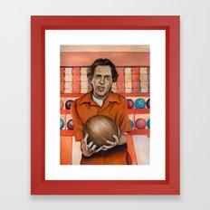 Donny / The Big Lebowski / Steve Buscemi Framed Art Print