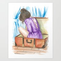 Afternoon Thoughts Art Print
